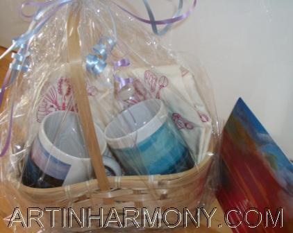 Gift Baskets With Card