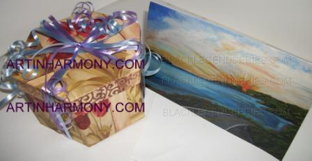gift box with nobska card